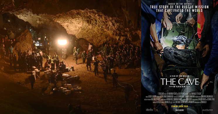 The Cave filme sobre o resgate da gruta na Tailandia