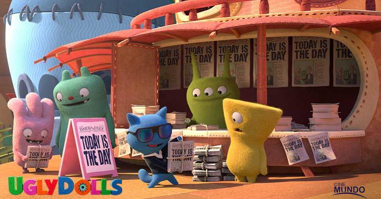 Trailer português da animação Uglydolls