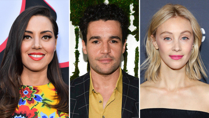 Aubrey Plaza, Christopher Abbott e Sarah Gadon vão liderar o elenco do thriller
