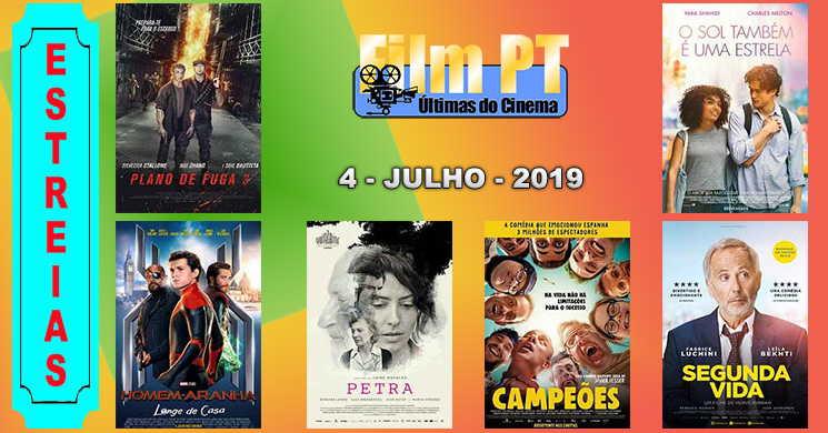 Estreias de filmes nos cinemas portugueses: 4 de julho de 2019