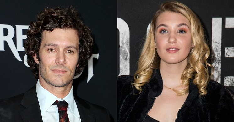 Adam Brody e Sophie Nelisse no filme The Kid Detective