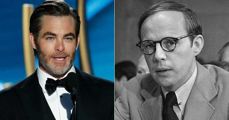 Chris Pine vai interpretar John Dean advogado de Nixon