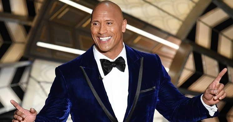 Lista da revista Forbes coloca Dwayne Johnson como o ator mais bem pago do mundo