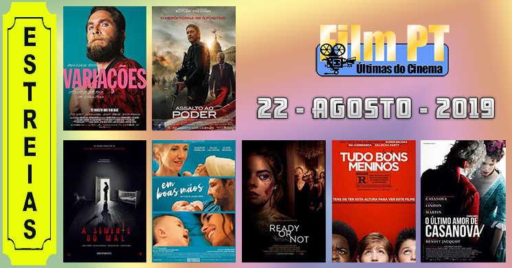 Estreias de filmes nos cinemas portugueses: 22 de agosto de 2019