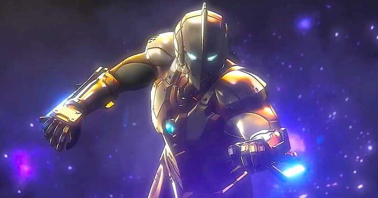 Hideaki Anno e Shinji Higuchi juntos no filme Shin Ultraman