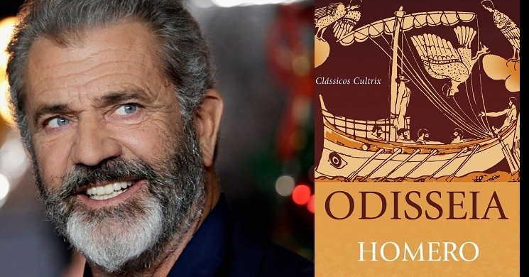 Mel Gibson vai interpretar Ulisses na adaptação cinematográfica de