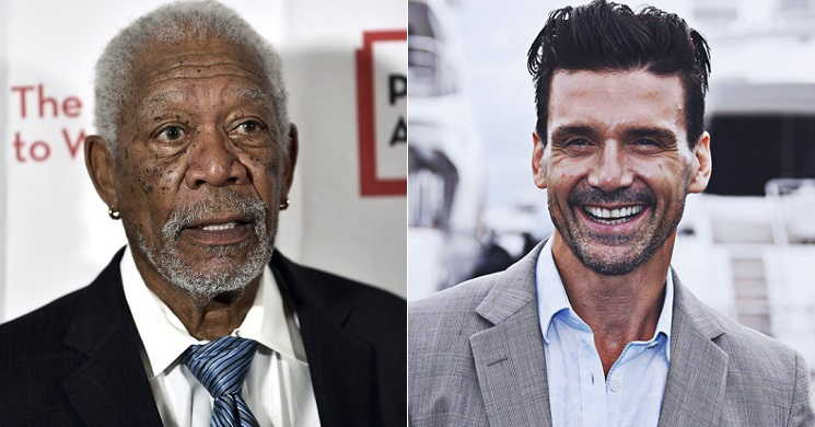 Morgan Freeman e Frank Grillo no elenco do filme Panama