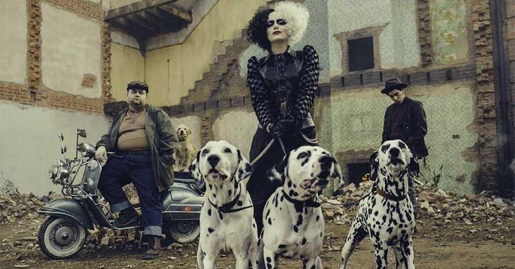 Primeira imagem de Emma Stone como Cruella de Vil