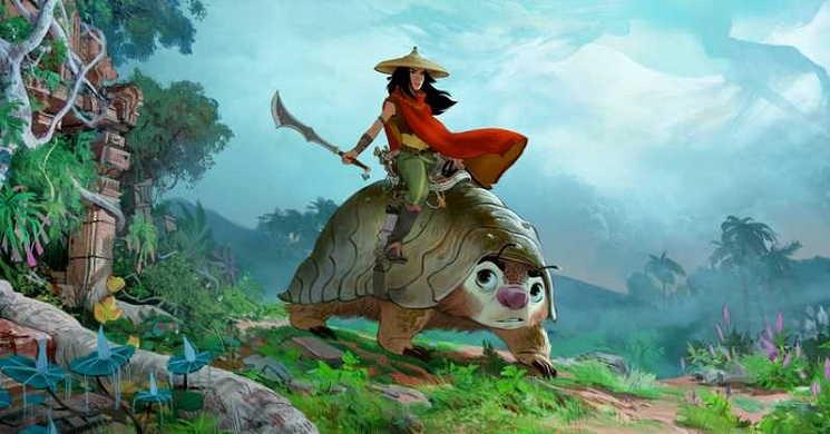 Disney apresentou a sua nova animação original