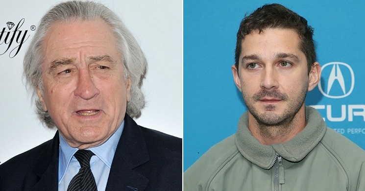 Robert De Niro e Shia LaBeouf serão os protagonstas do drama criminal