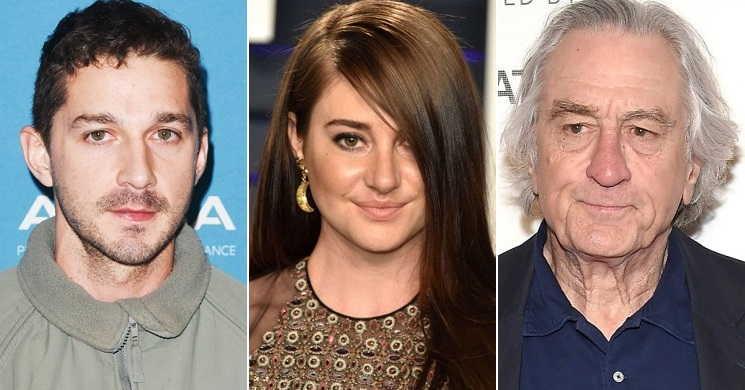 Shailene Woodley juntou-se a Shia LaBeouf e Robert de Niro no elenco de