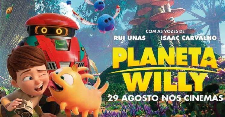 Uma aventura muito espacial. Trailer português da animação