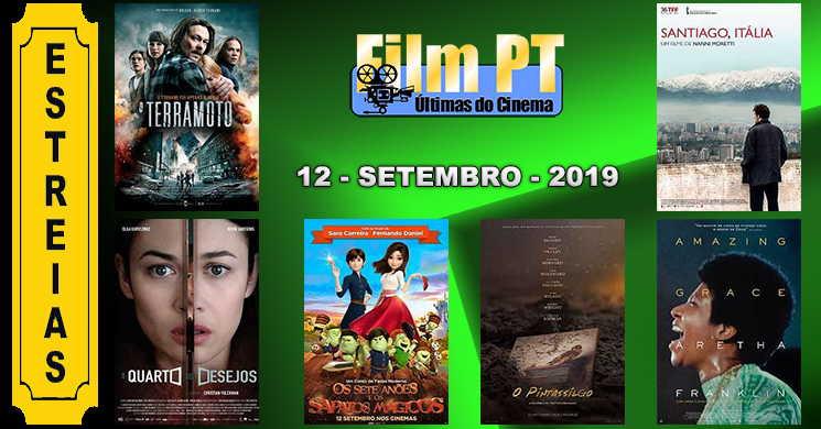 Estreias de filmes em Portugal: 12 de setembro de 2019