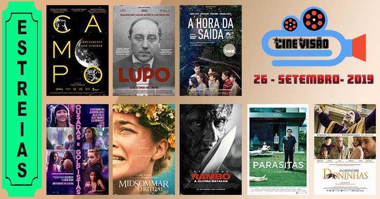 Estreias de filmes nos cinemas portugueses: 26 de setembro de 2019