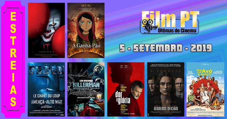 Estreias de filmes nos cinemas portugueses: 5 de setembro de 2019