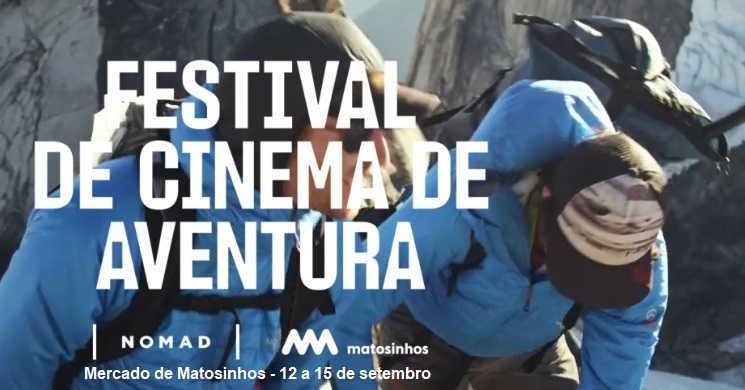 Festival de Cinema de Aventura transforma o Mercado de Matosinhos numa sala de cinema