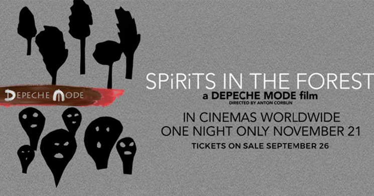 Documentário-concerto dos Depeche Mode vai estrear-se em vários países numa sessão única