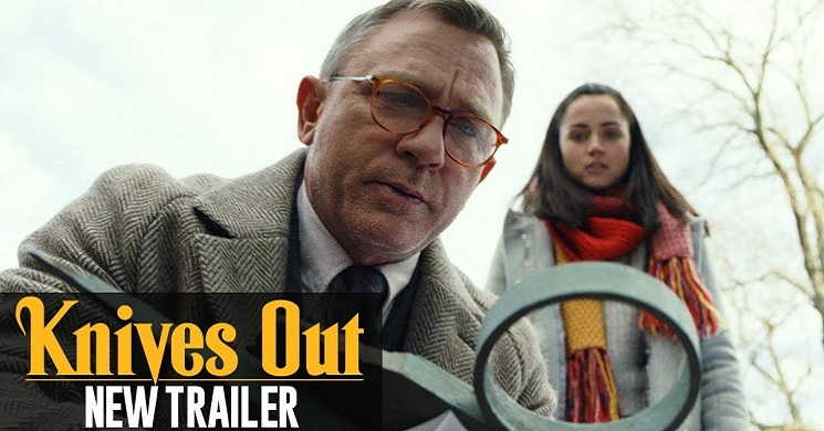 Novo trailer oficial do filme Knives Out