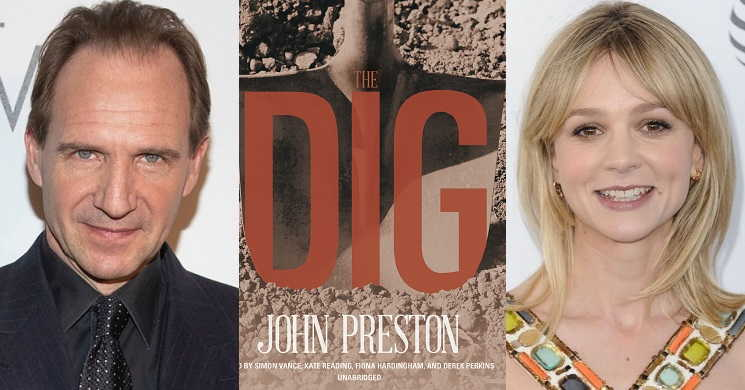 Ralph Fiennes e Carey Mulligan protagonistas do filme The Dig
