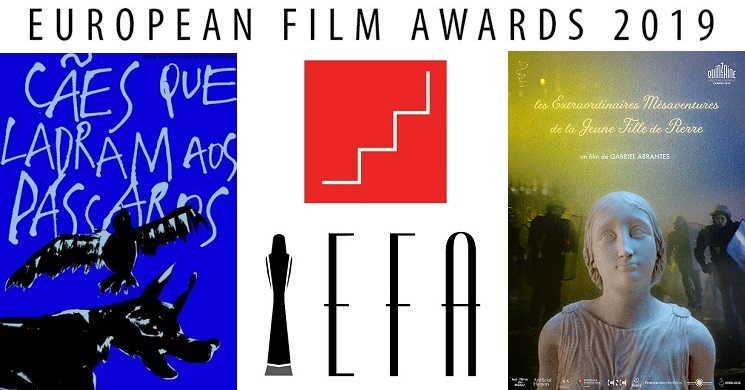Duas curtas portuguesas nomeadas aos Prémios Europeus de Cinema 2019
