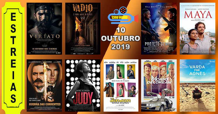Estreias de filmes nos cinemas portugueses: 10 de outubro de 2019