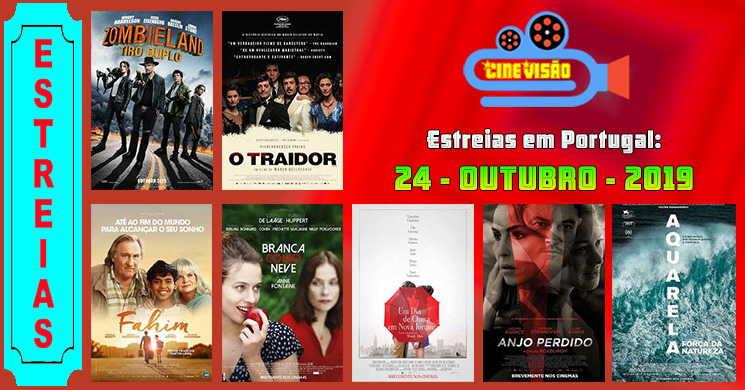 Estreias de filmes nos cinemas portugueses: 24 de outubro de 2019