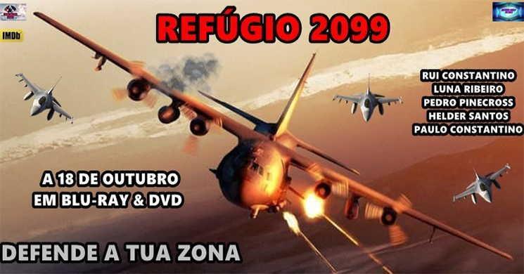 Filme Refúgio 2099 lançamento em DVD e Blu-ray