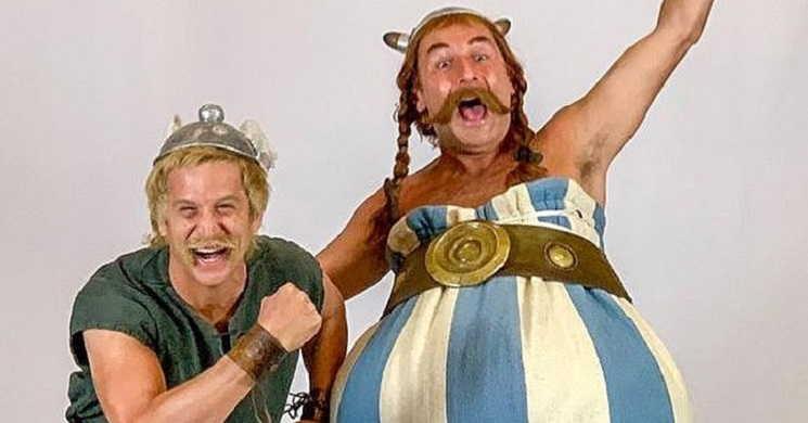 Guillaume Canet e Gilles Lellouche juntos na nova aventura cinematográfica de Astérix
