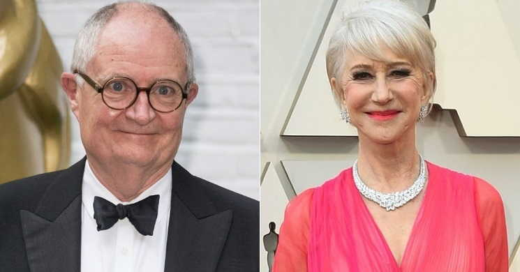 Jim Broadbent e Helen Mirren no filme The Duke