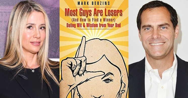 Mira Sorvino e Andy Buckley no filme Most Guys are Losers
