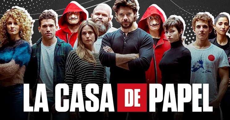 Netflix renova La Casa de Papel para uma quinta temporada