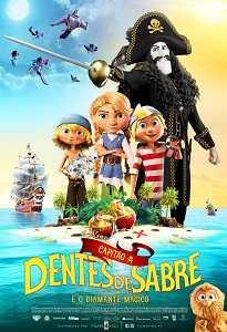 Poster do filme Capitão Dentes de Sabre e o Diamante Mágico
