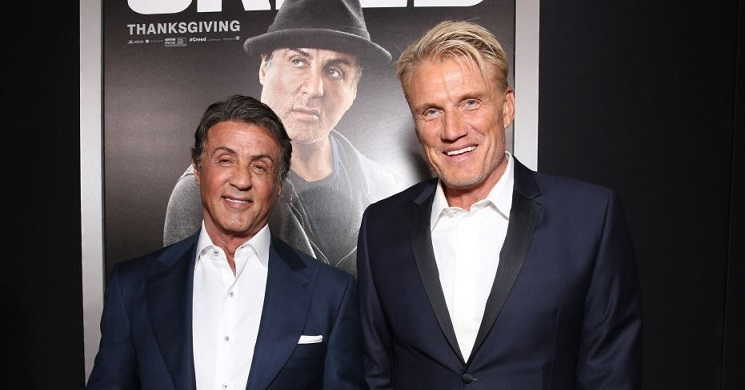 Sylvester Stallone e Dolph Lundgren juntos na série The International