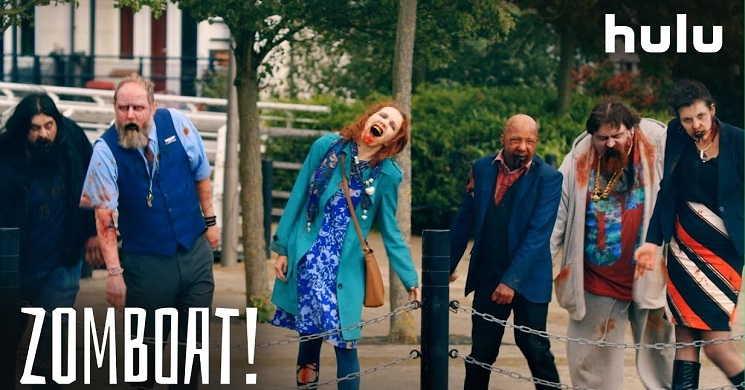 ZOMBOAT! - Trailer da série HULU