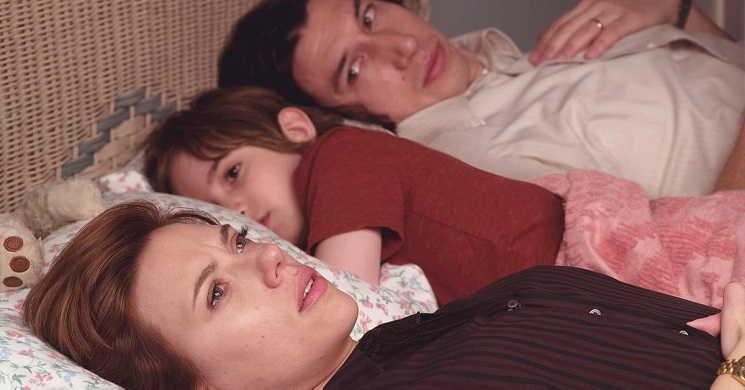 Scarlett Johansson e Adam Driver em processo de divórcio. Trailer português de