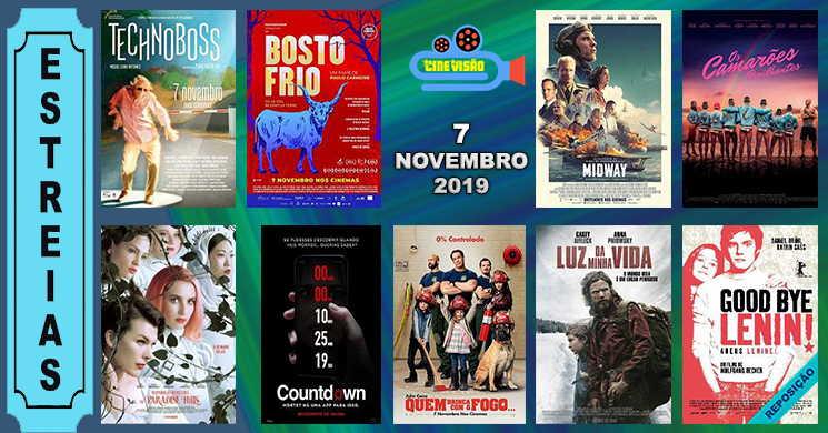 Estreias de filmes nos cinemas portugueses: 7 de novembro de 2019