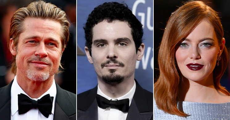 Filme de Damien Chazelle pode reunir Brad Pitt e Emma Stone