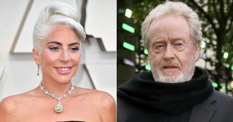 Lady Gaga no novo filme de Ridley Scott