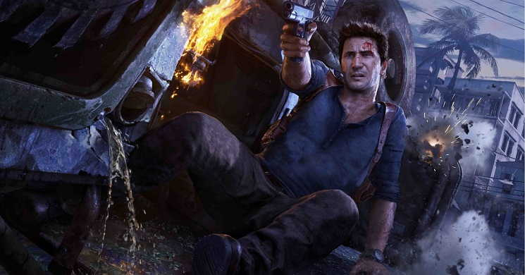 Mark Wahlberg no filme Uncharted