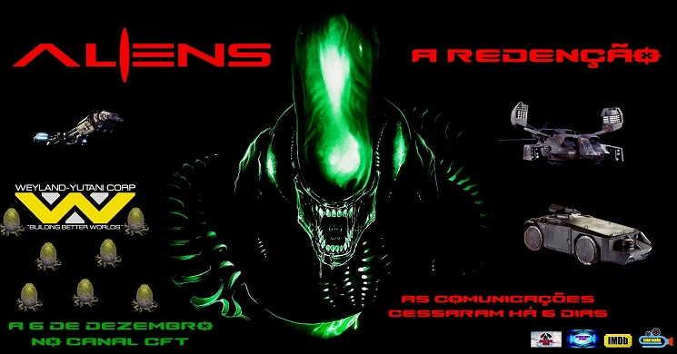Trailer da curta-metragem Aliens: A Redenção