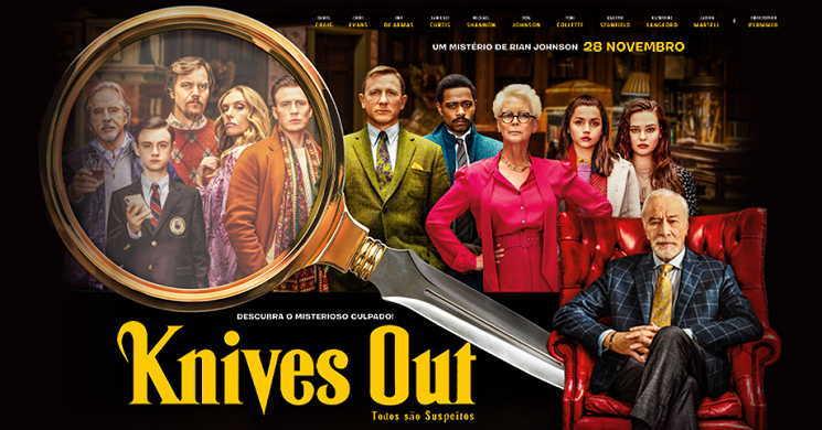 Trailer português do filme Knives Out - Todos são Suspeitos