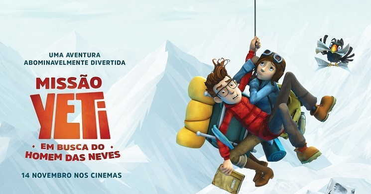 Trailer português do filme Missão Yety: Em Busca do Homem das Neves