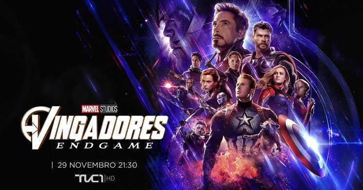 Vingadores: Endgame estreia no TVCine 1