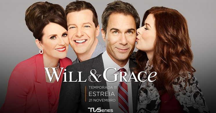 11ª temporada da série Will &Grace estreia no TVSeries a 21 de novembro