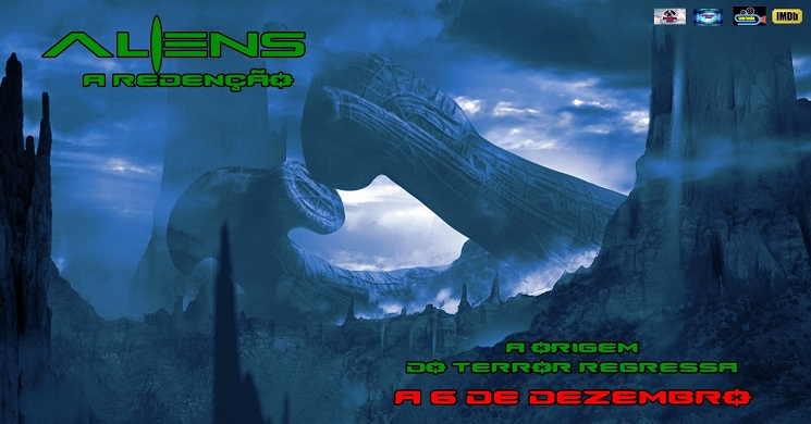 Estreia da curta-metragem Aliens: A Redencao