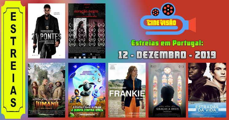 Estreias de filmes nos cinemas portugueses: 12 de dezembro de 2019