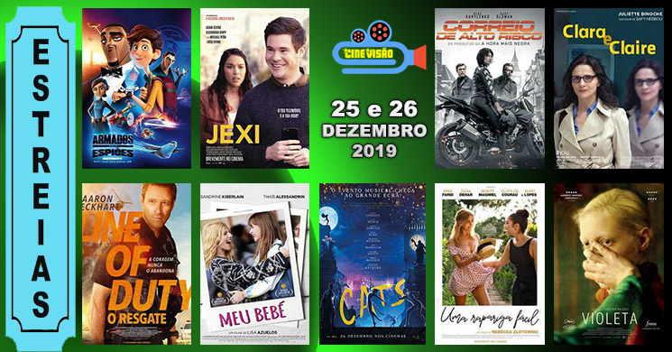 Estreias de filmes nos cinemas portugueses: 25 e 26 de dezembro de 2019