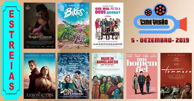 Estreias de filmes nos cinemas portugueses: 5 de dezembro de 2019