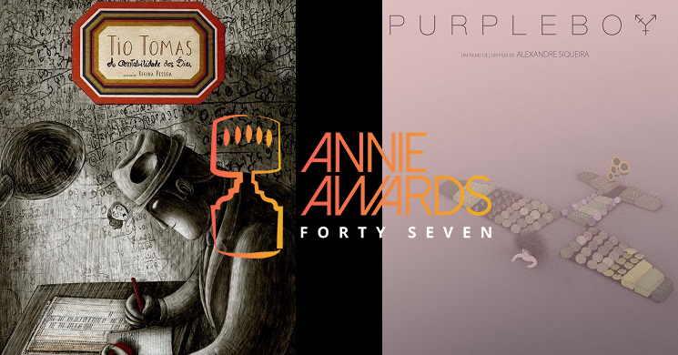 47º Annie Awards: Duas curtas portuguesas nomeadas aos prémios da animação