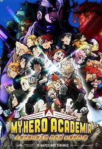 Poster do filme My Hero Academia: Ascensão dos Heróis